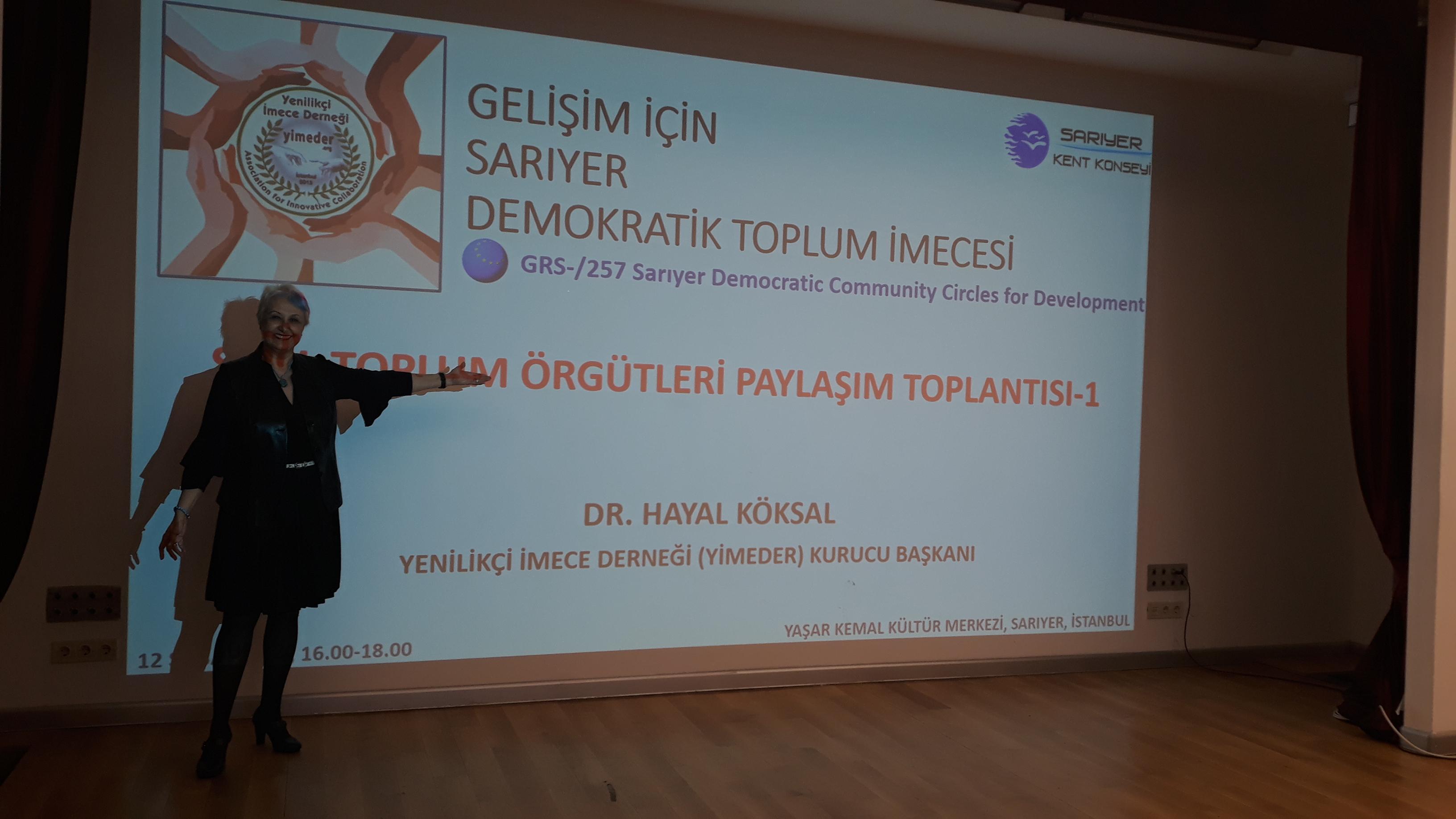 YİMEDER Meeting with Sarıyer NGOs – Hayal Köksal's Personal